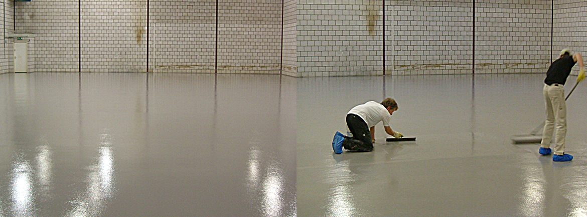 Epoxy rol-gietcoating