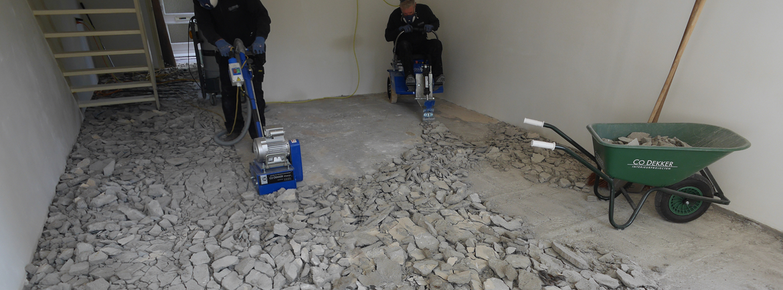 Zeer Specialist voor alle vloerverwijdering   Co Dekker vloerverwijdering BC69
